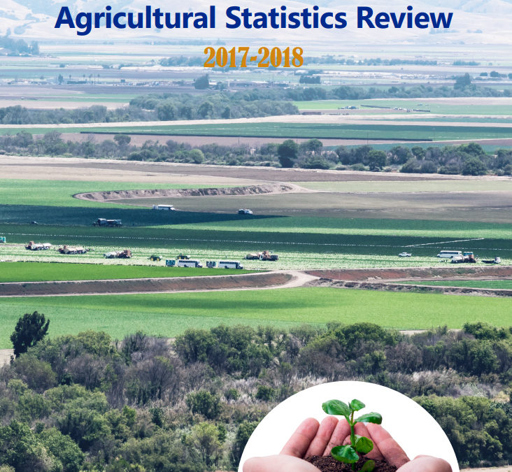 California Crop Year 2017 Report Released